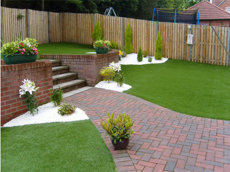 residential synthetic grass in Perth